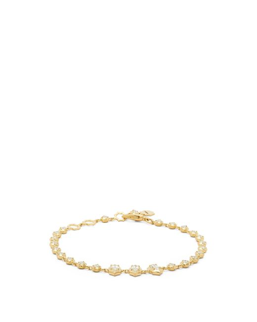 Jade Trau マーヴェリック ダイヤモンド 18kゴールドブレスレット Multicolor