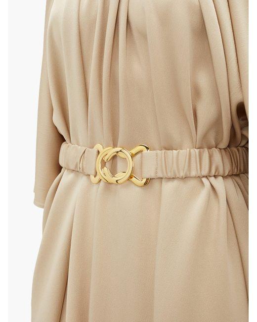 Dodo Bar Or ジュリー ベルテッド クレープドレス Natural
