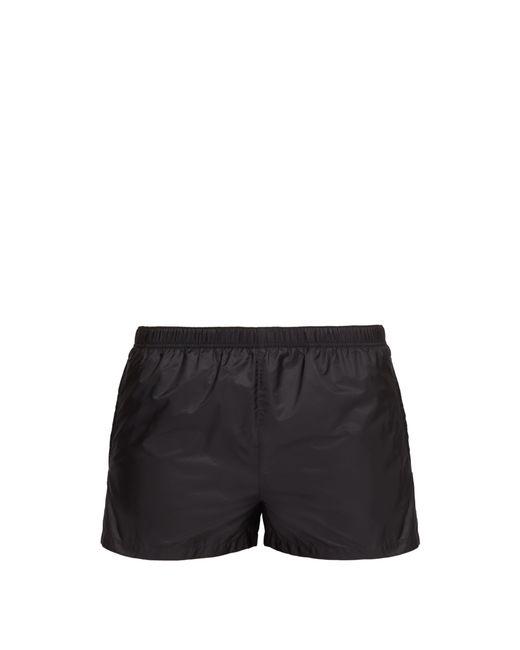 Prada - Gray Short de bain en nylon à cordon coulissant for Men - Lyst