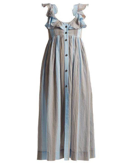 Beatrice cotton dress Three Graces London VQnlSQv