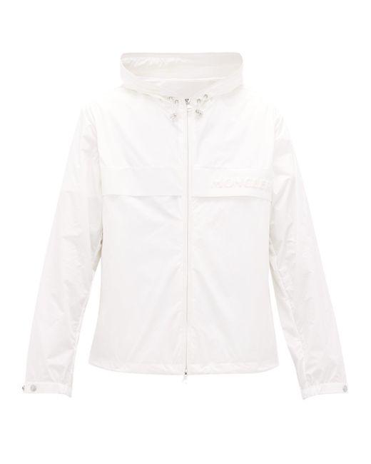 メンズ Moncler ブノワ フーデッドテクニカルジャケット White