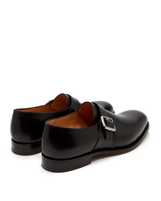 Noir Boucle Coloris De Chaussures En Cuir À Westbury Homme SUzMVp