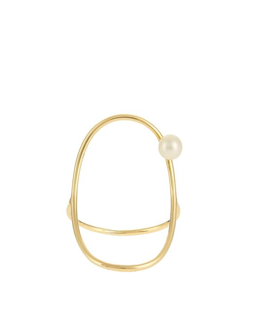 Anissa Kermiche | Multicolor Pearl & Yellow-gold Ring | Lyst