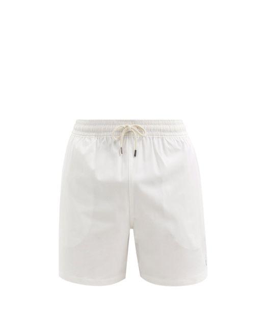 メンズ Polo Ralph Lauren トラベラー スイムショーツ White
