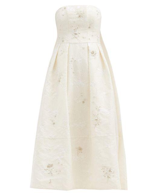 Erdem アリナ シャンティリーレースドレス White