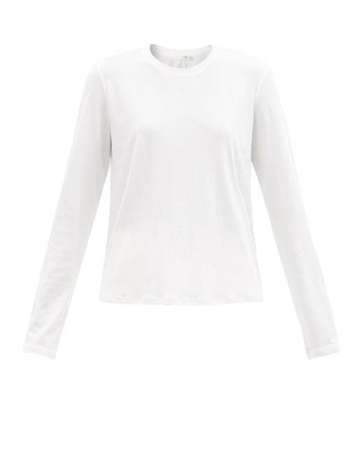 The Row シャーマン コットン ロングスリーブtシャツ White
