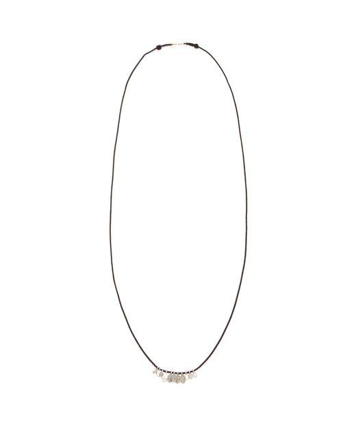 Isabel Marant - Metallic Medallion Charm Necklace for Men - Lyst