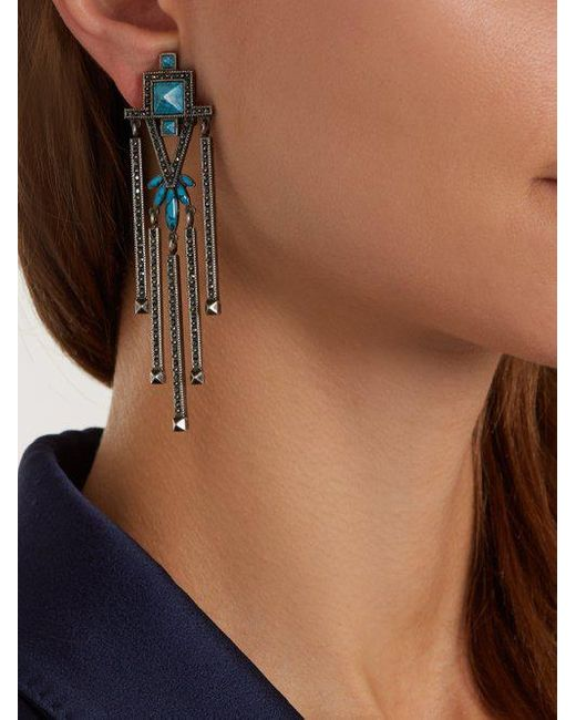 Crystal-embellished clip-on earrings Valentino iiOF4L