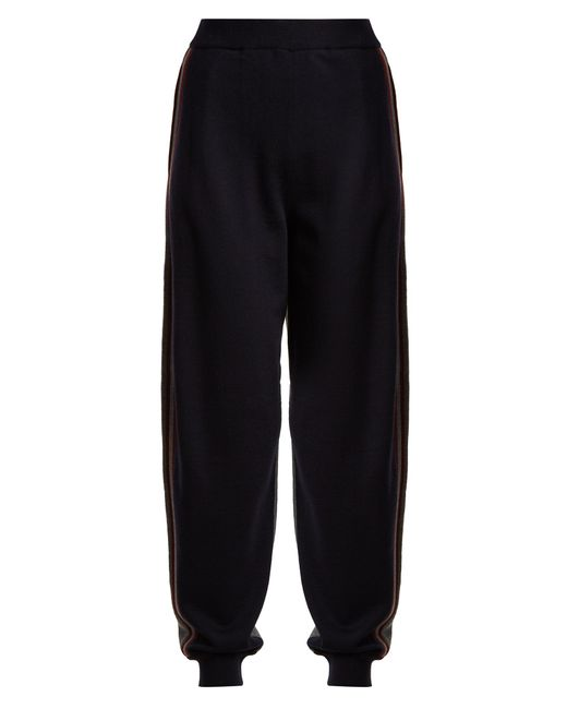 Stella McCartney   Multicolor Contrast-panel Wool Track Pants   Lyst