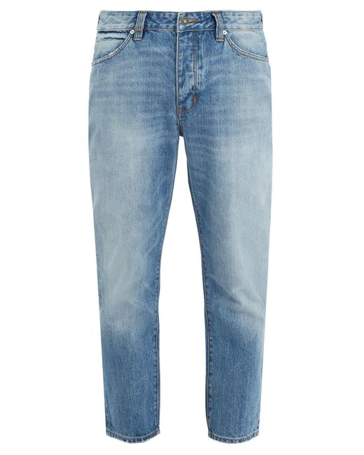 Neuw | Blue Boss Straight-leg Cropped Jeans for Men | Lyst
