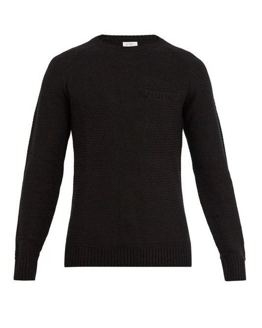 Saturdays NYC - Black Keith Cotton-blend Sweater for Men - Lyst