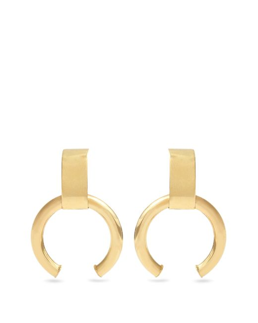 Loren Stewart - Metallic Yellow Gold Earrings - Lyst