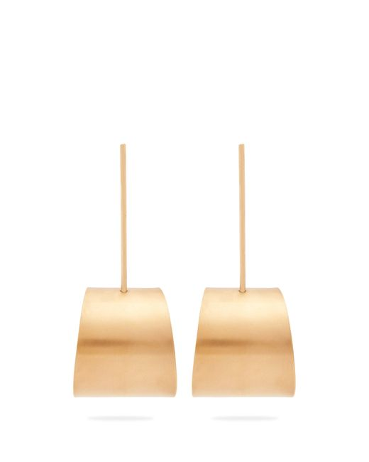 Fay Andrada - Multicolor Tappi Large Brass Drop Earrings - Lyst