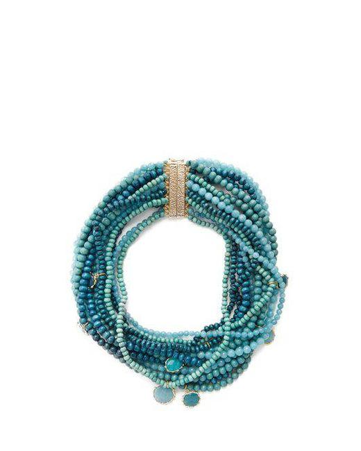 Rosantica By Michela Panero - Blue Inganno Multi-strand Necklace - Lyst