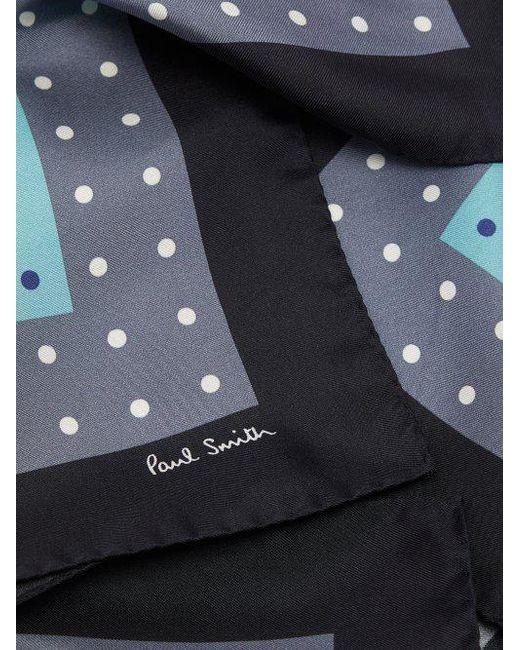 Polka-dot tricolour pocket square Paul Smith DDY8uN