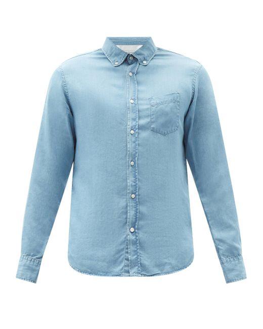 メンズ Officine Generale Officine Générale アンティム シャンブレーシャツ Blue