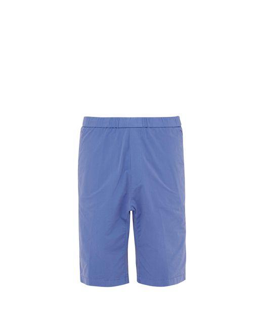Barena - Blue Short en coton mélangé for Men - Lyst