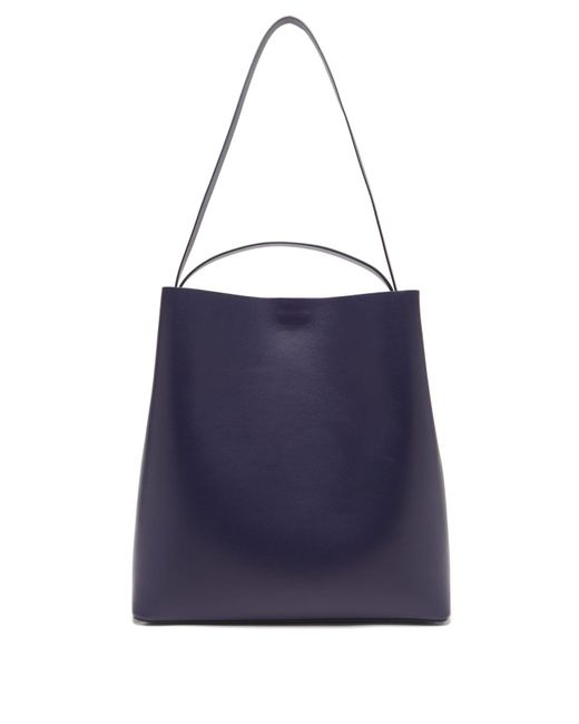 Aesther Ekme Blue Leather Tote Bag