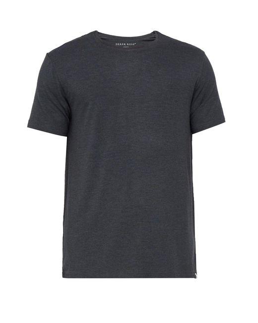 Derek Rose Gray Marlowe Lounge T-shirt for men
