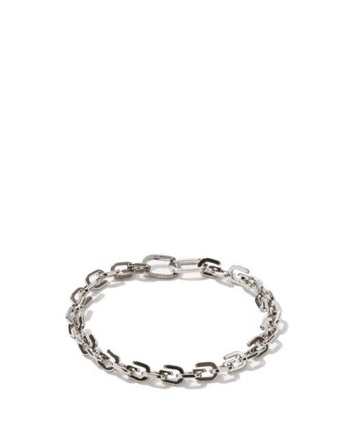 Givenchy Gリンク メタルブレスレット Metallic