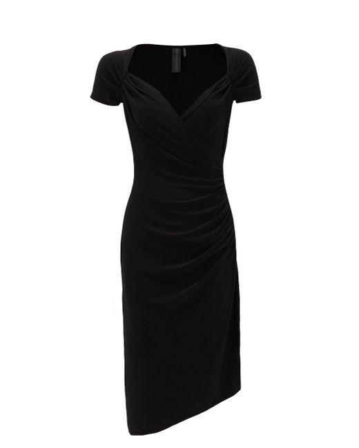 Norma Kamali スウィートハートネック ドレス Black