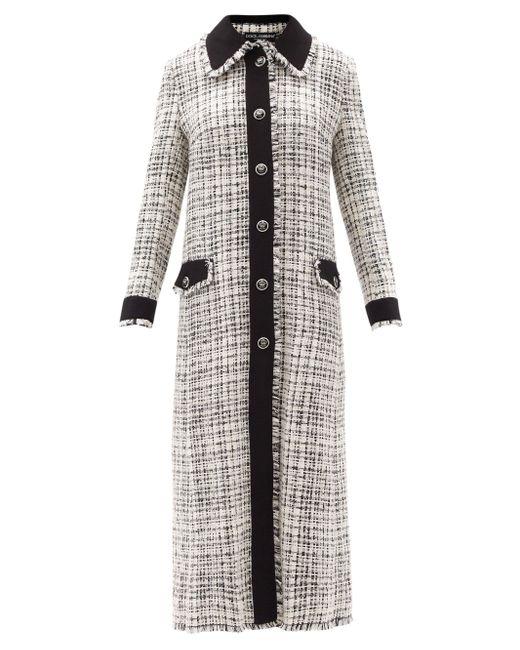 Dolce & Gabbana ツイード シングルコート Multicolor