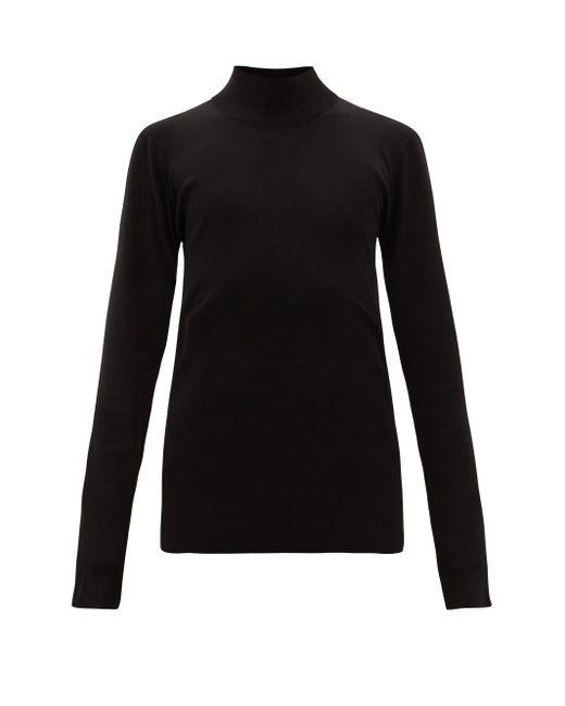 メンズ Bottega Veneta タートルネック セーター Black