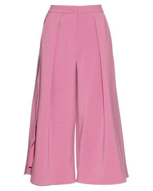 Roksanda - Pink Towan Wave-edged Culottes - Lyst
