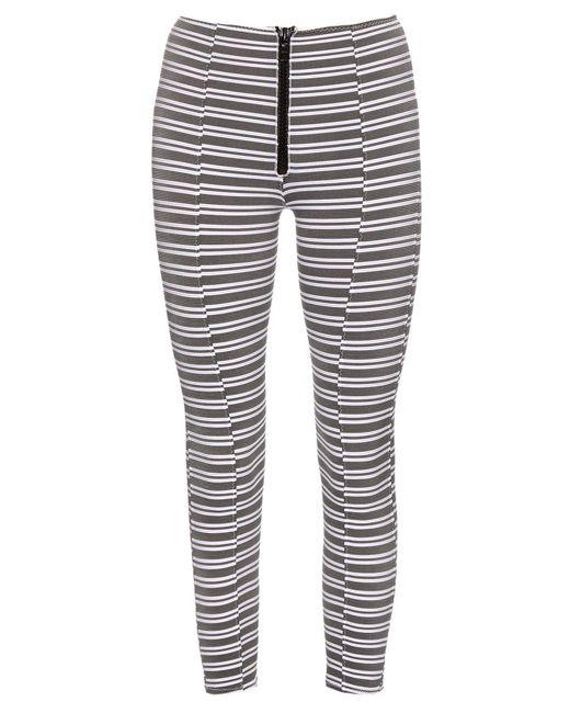Lisa Marie Fernandez - White Hannah Striped Performance leggings - Lyst