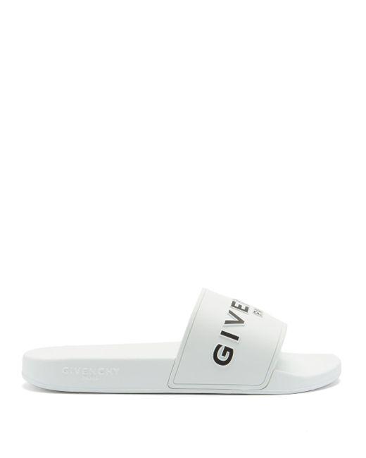 メンズ Givenchy ラバーサンダル White