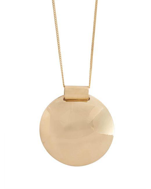 Fay Andrada - Metallic Pallo Brass Pendant Necklace - Lyst