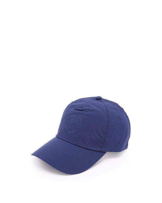Frescobol Carioca - Blue Logo Motif Baseball Cap for Men - Lyst