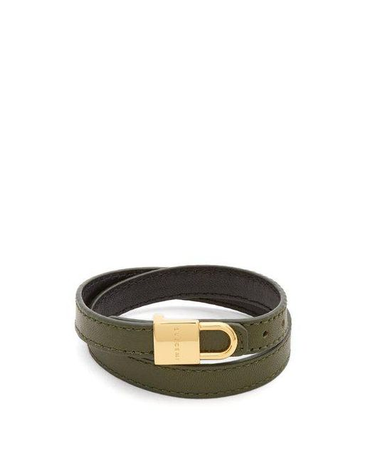 Buscemi Wraparound leather bracelet q4iMJZN