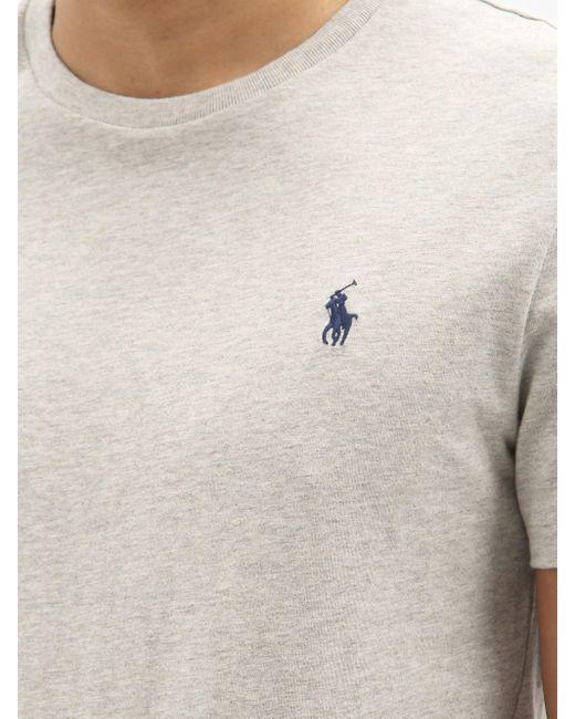 メンズ Polo Ralph Lauren コットンtシャツ Gray