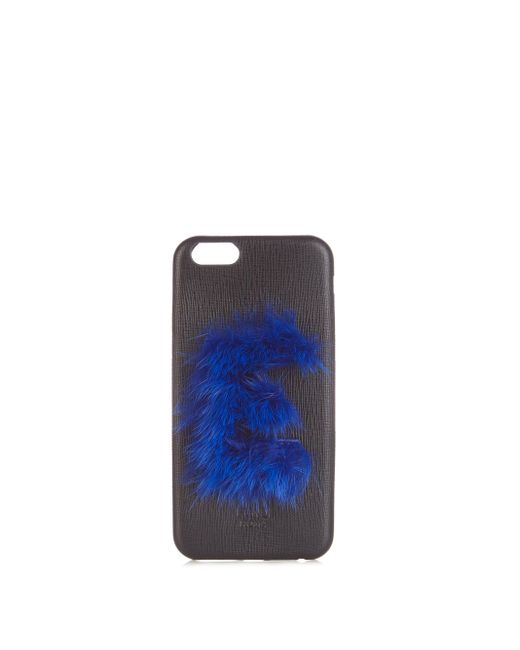 Fendi Multicolor Leather Iphone® 6 Case