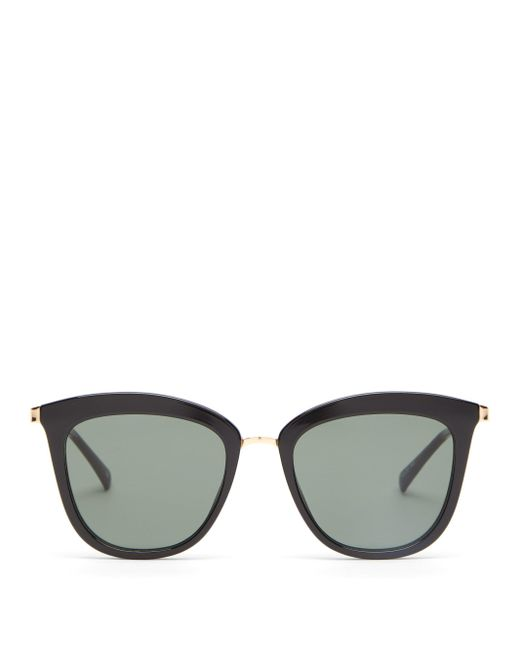 Le Specs Caliente オーバーサイズ キャットアイ サングラス Multicolor