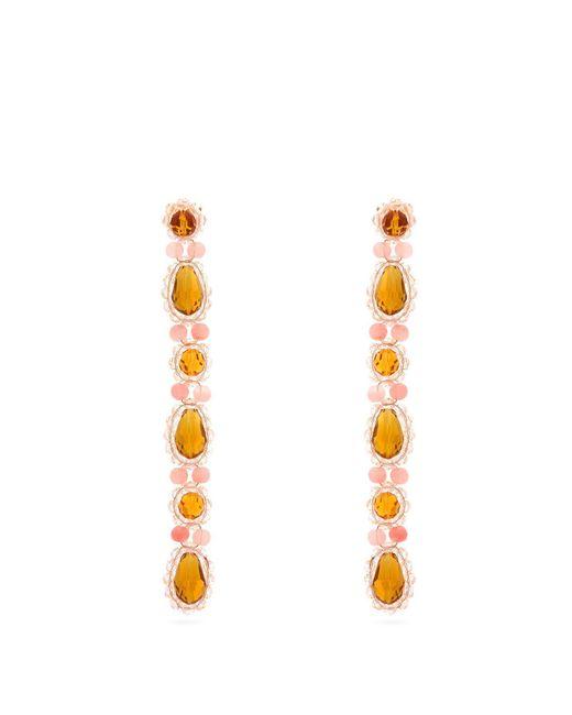 Simone Rocha - Multicolor Faux-pearl Drop Earring - Lyst