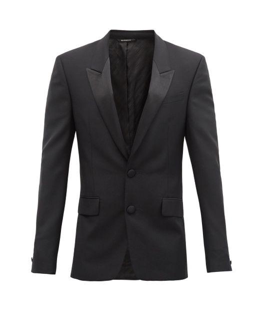 メンズ Givenchy ウールモヘア シングルタキシードスーツ Black