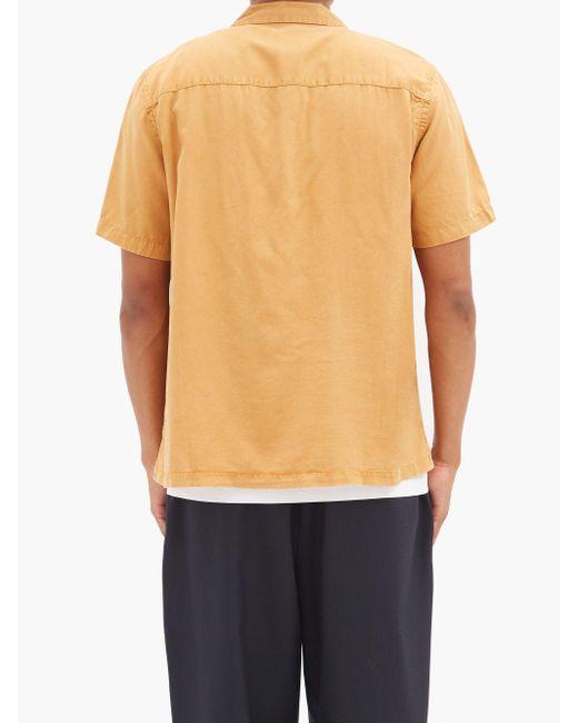 メンズ Saturdays NYC ギブソン テンセルシャツ Multicolor