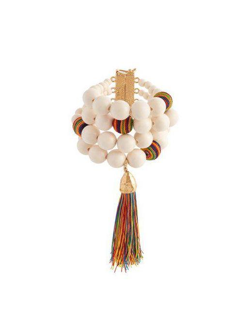 Rosantica Arlecchino multi-strand tassel bracelet YT8HS
