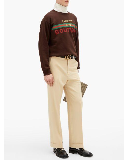 メンズ Gucci ロゴ スウェットシャツ Multicolor