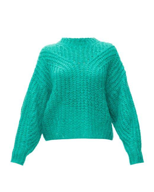 Isabel Marant Inko モヘアウールセーター Multicolor