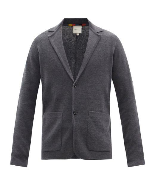 メンズ Paul Smith ウールジャケット Gray