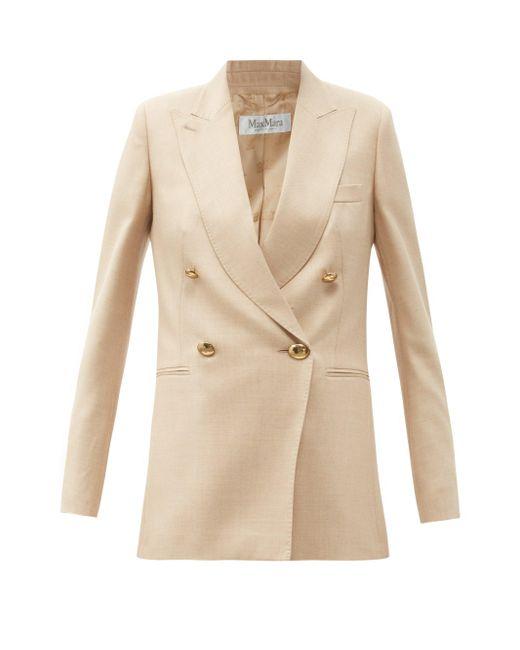 Max Mara Natural Lamine Jacket