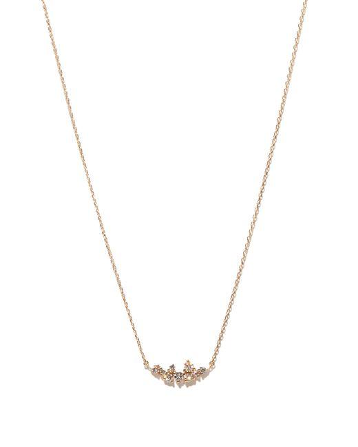 Mizuki ダイヤモンド 14kゴールドネックレス Multicolor