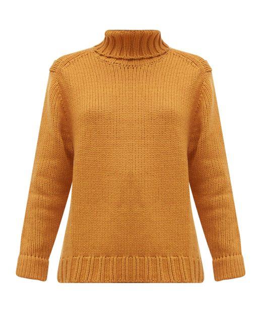 Joos Tricot タートルネック ウールセーター Multicolor