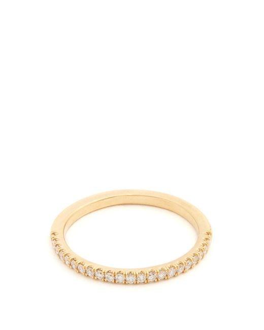 Marc Alary   Metallic Diamond & Yellow-gold Ring   Lyst