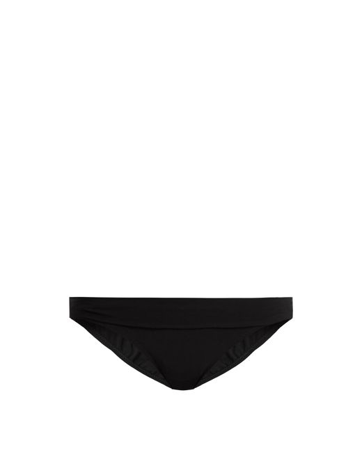 Heidi Klein | Black Oslo Fold-over Bikini Briefs | Lyst