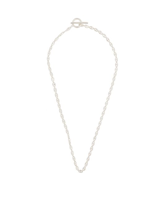 All_blues - Metallic Polished Gold Plated String Necklace for Men - Lyst