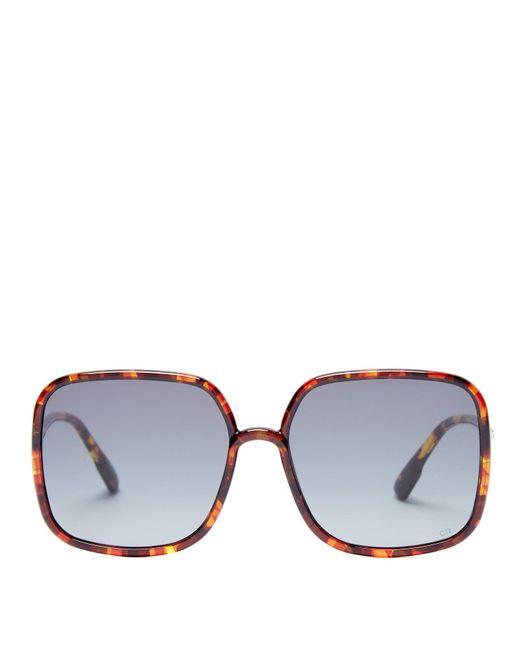 Dior Sostellaire 1 スクエアフレーム アセテートサングラス Multicolor